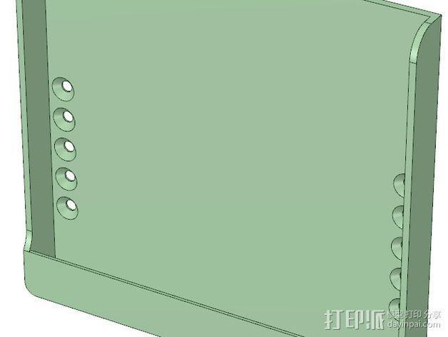 Nexus 7 站架 3D模型  图9
