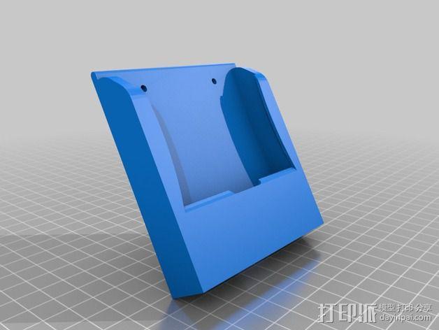 车载手机座 3D模型  图2