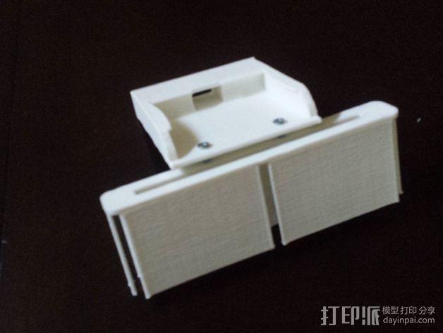 车载手机座 3D模型  图6