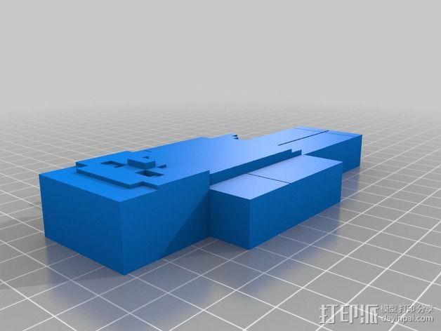 人像 3D模型  图1