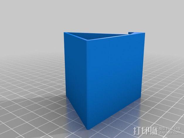 三角形iphone5手机 3D模型  图2