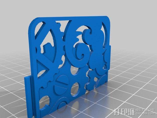镂空手机壳 3D模型  图3