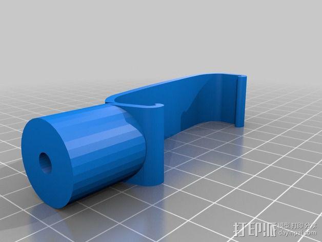 车载手机座 3D模型  图3