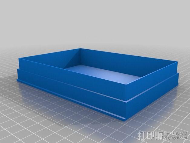 硬盘储存盒 3D模型  图1