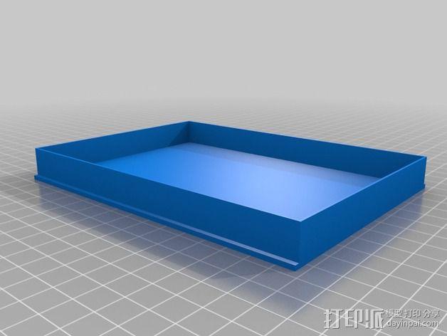 硬盘储存盒 3D模型  图2