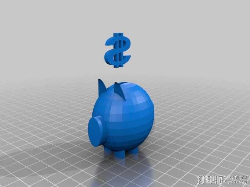 扑满模型 3D模型  图1