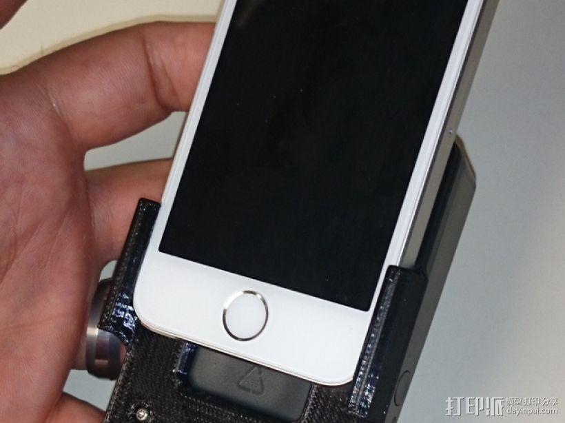 苹果5s手机支架 3D模型  图1