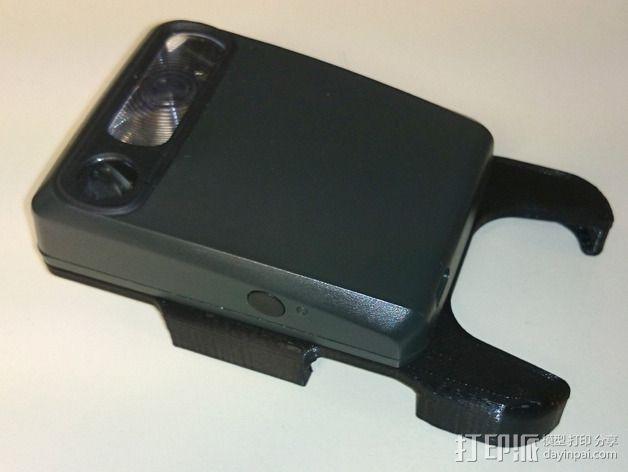 苹果5s手机支架 3D模型  图3