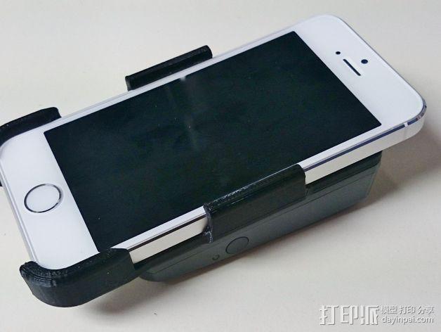 苹果5s手机支架 3D模型  图4