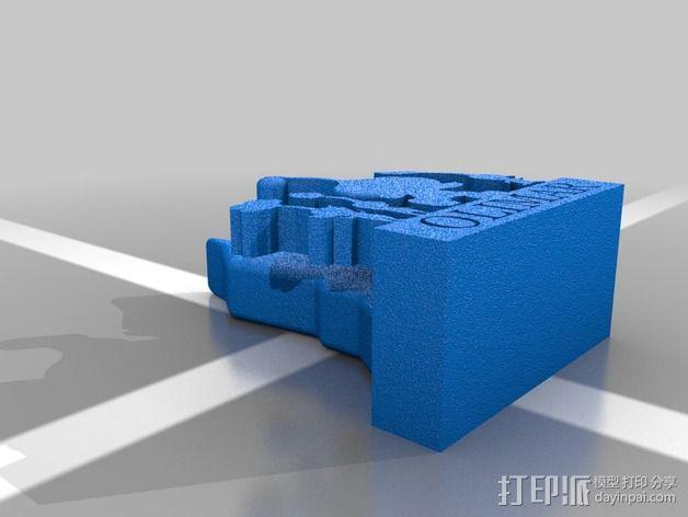 人偶造型 3D模型  图2