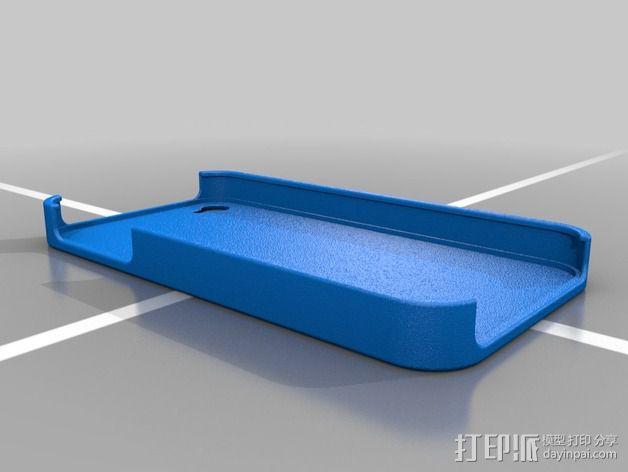 苹果4苹果4S手机壳 3D模型  图2