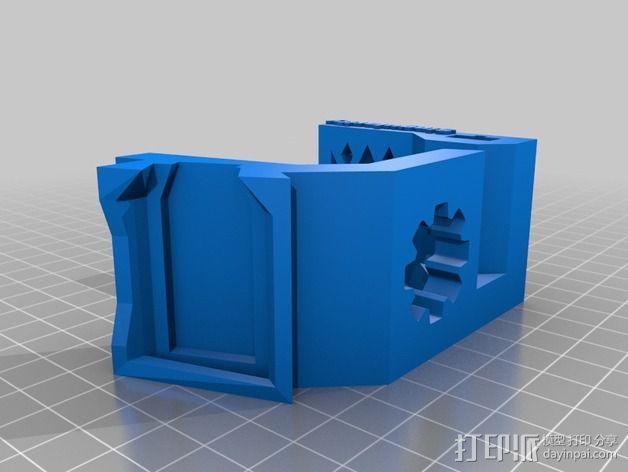 三星手表座 3D模型  图2