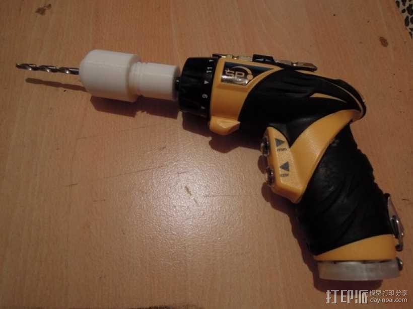 电动螺丝刀 3D模型  图1