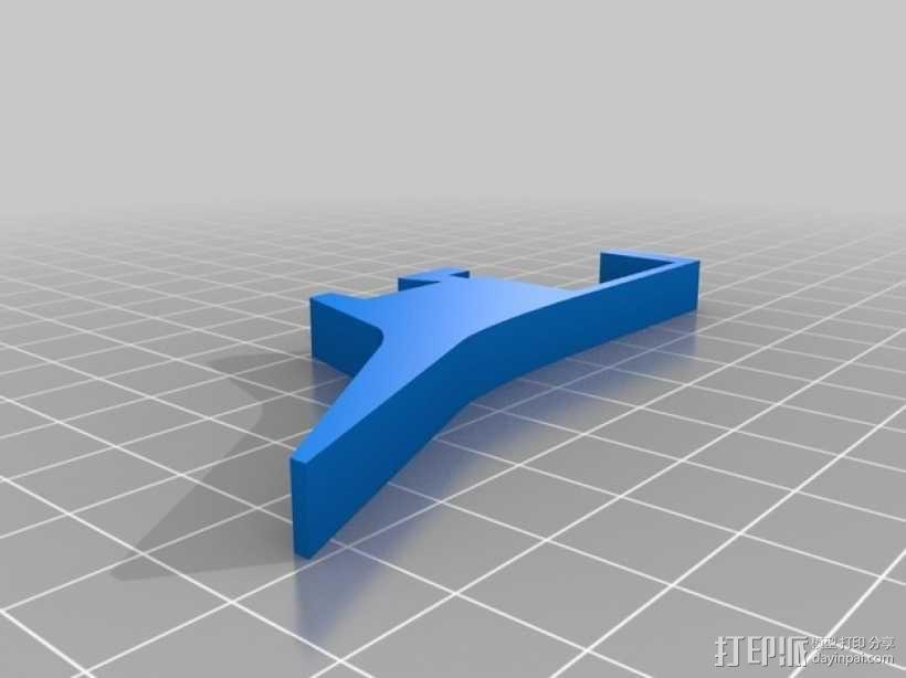平板电脑衔接支架 3D模型  图2