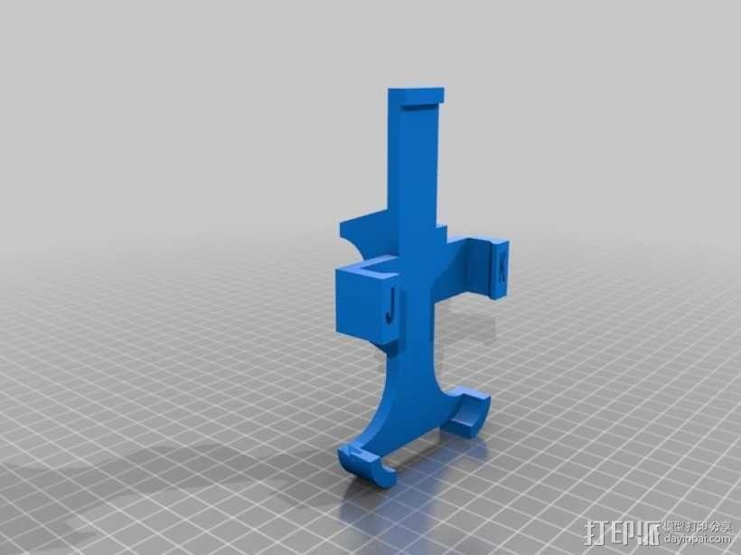iphone4手机座 3D模型  图1