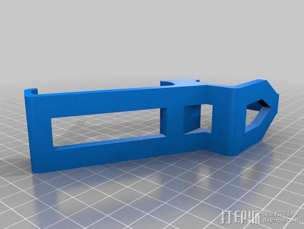 PS3 控制器和Sony Xperia 衔接器 3D模型  图1