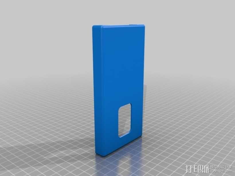 LG G2手机壳 3D模型  图1