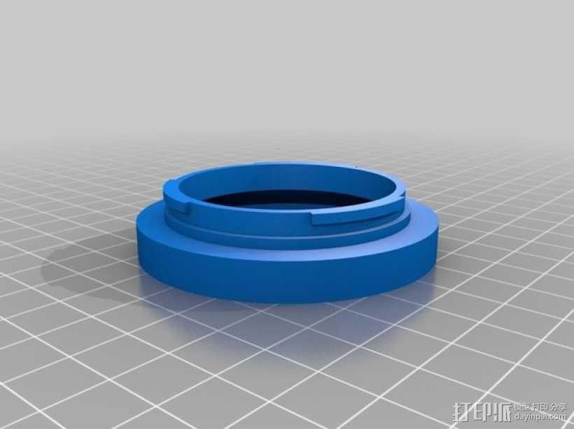 佳能镜头盖 3D模型  图2