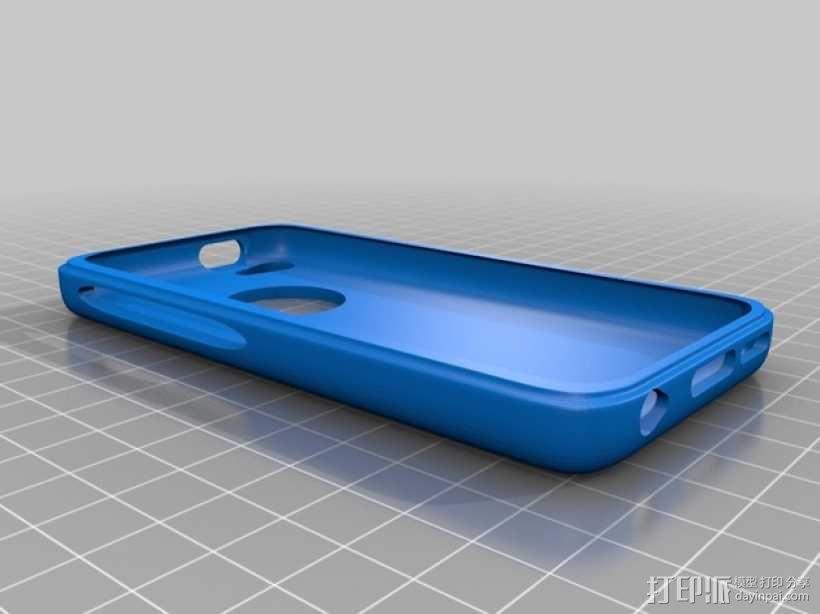 iphone5c手机壳 3D模型  图1