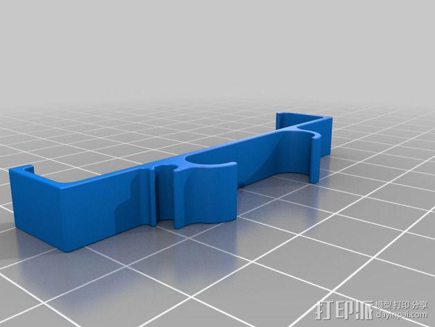 iphone5/5s夹子 3D模型  图5