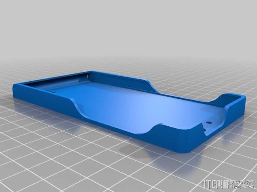 华为Ascend G6手机壳 3D模型  图2