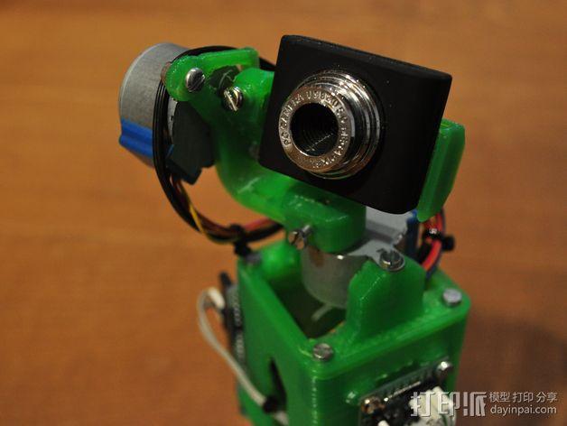 摄像头支架 3D模型  图1