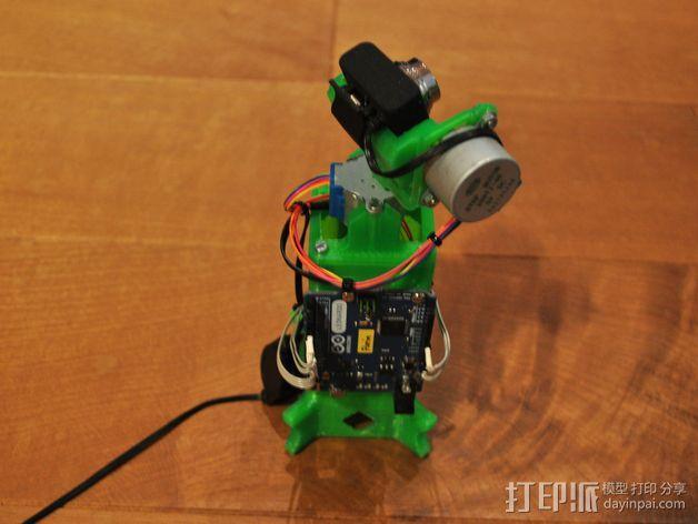 摄像头支架 3D模型  图10