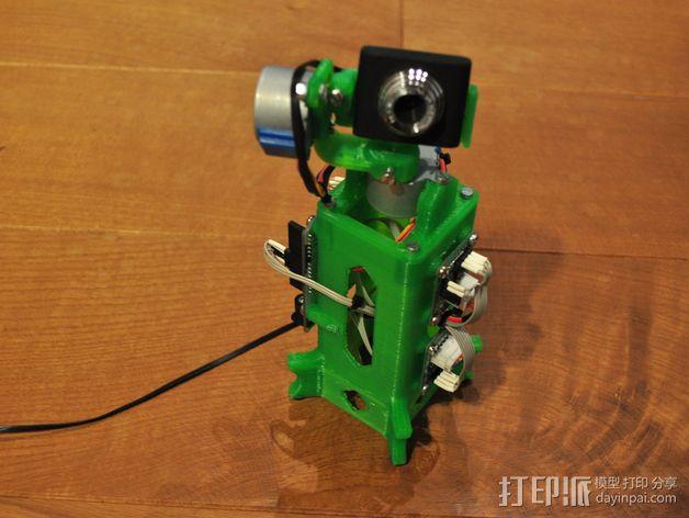 摄像头支架 3D模型  图15