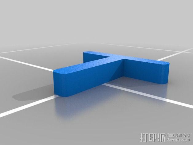 草坪电缆线固定器 3D模型  图4
