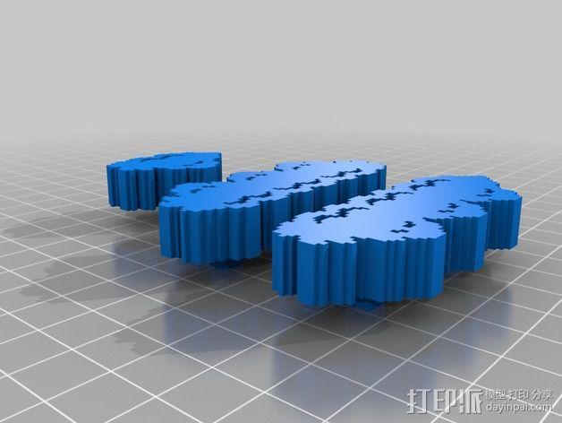 3D马里奥场景 3D模型  图16