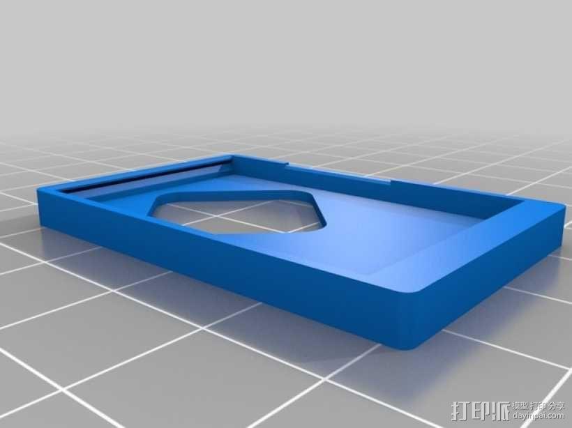 小型MP3播放器 3D模型  图3