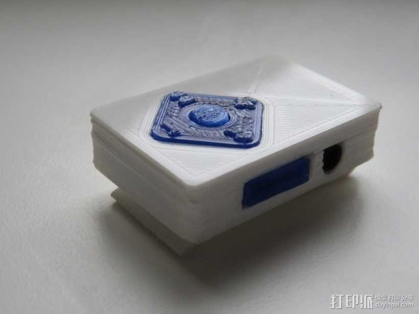 小型MP3播放器 3D模型  图4