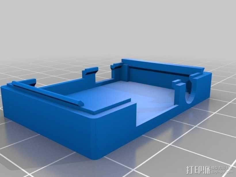 小型MP3播放器 3D模型  图2