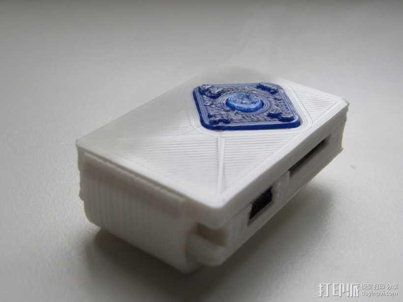 小型MP3播放器 3D模型  图7