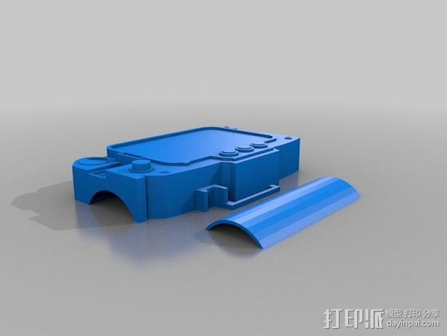 Pip Boy 3000 3D模型  图2