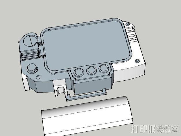 Pip Boy 3000 3D模型  图1