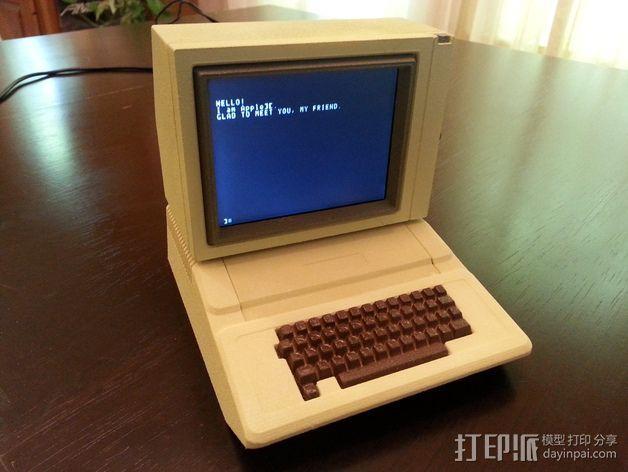 苹果显示器罩 3D模型  图3