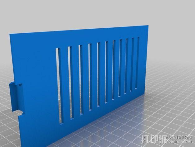 过滤板 3D模型  图2