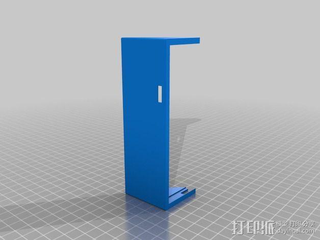 三星S2遮阳板 3D模型  图2