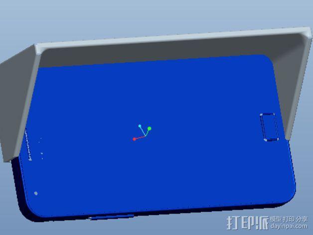 三星S2遮阳板 3D模型  图4