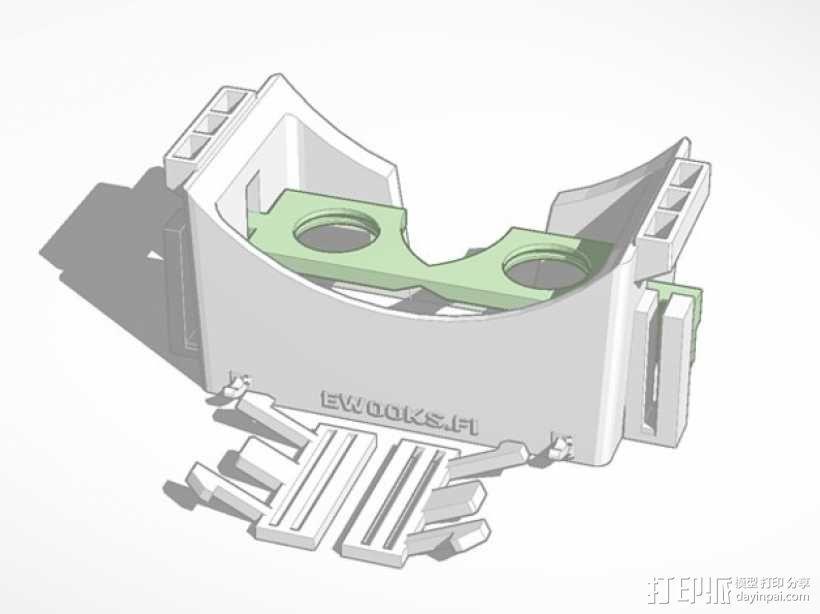 滤镜眼镜 3D模型  图1