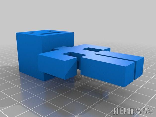 人形 3D模型  图1