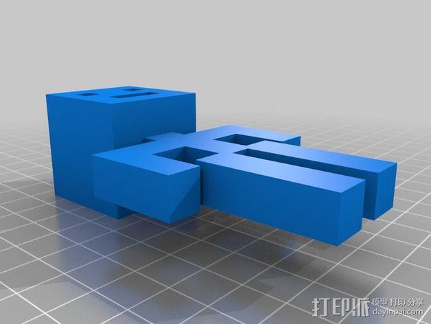人形 3D模型  图3