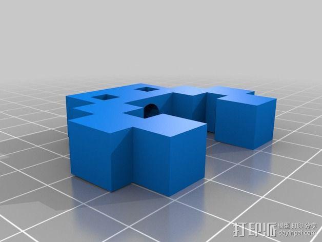 人形 3D模型  图2
