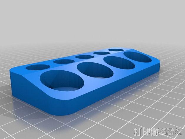 电子香烟盛饭座 3D模型  图2