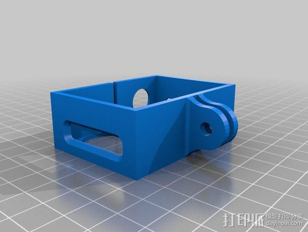 Gopro Frame hero 3 3D模型  图1