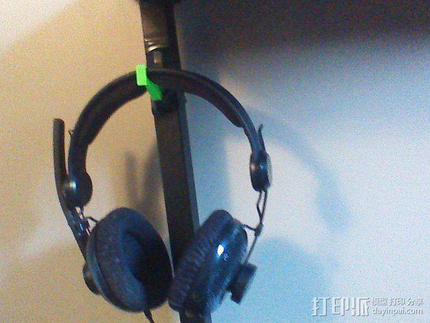 耳机支架 3D模型  图4