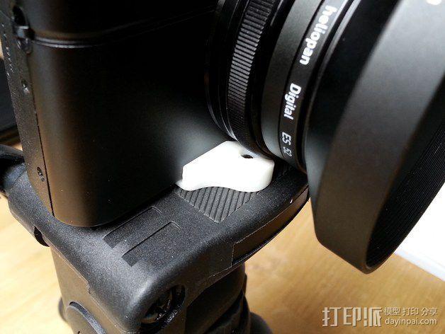 Sony RX100M2 适配器 3D模型  图2