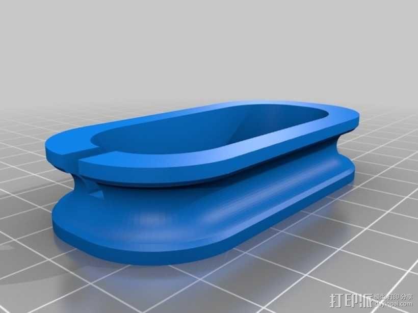 耳机缠绕器 3D模型  图2