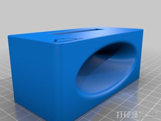 iPhone 3/4/4s/5/5s 手机壳 3D模型  图1